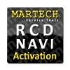 RCD Service Tools Activation for Martech -