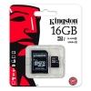 microSDHC 16GB [Clase 10 UHS-I] con Adaptador SD