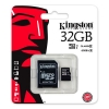 microSDHC 32 GB [Class 10 UHS-I] with SD Adapter - microSDHC / microSDXC 32 GB Toshiba memory card in blister packaging and with SD adapter.