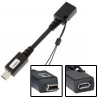 microUSB (female) to miniUSB (male) Converter - Use and convert all accessories, cables, chargers, etc ... that you already have with microUSB connector on the miniUSB devices without re-buy the whole collection again! Save huge amounts of money and space! Supports data synchronization and charging fully transparent!