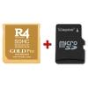 R4i Gold Pro 2016 con tarjeta microSD