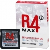 Cartucho R4i MAX Revolution *ORIGINAL* para NDS / DS Lite / DSi / XL / 3DS - Este es el ltimo cartucho de los chicos del R4i MAX Team! Funciona con todas las versiones de Nintendo DS, DS Lite, DSi, DSi XL y 3DS! Incluso con las DSi y DSi XL con firmware actualizado a v1.4.4 y las nuevas 3DS con v4.4.0-10! As que el mejor soporte y las actualizaciones estn garantizadas! Compatible con todo tipo de ROMs, Homebrew y Multimedia!