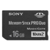 Memory Stick PRO DUO 16GB Card with Adapter -