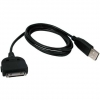 Cable USB compatible iPhone / iPad / iPod Touch [1 metro] - Compatible con iPhone, 3G, 3GS, 4, 4S, iPad WiFi o 3G, iPad 2, iPod Touch y en definitiva con los dispositivos con conector Dock de 30 pines. V�lido para carga y sincronizaci�n con iTunes. Conector Dock 30 pines desmontable ideal por si tiene que soldar o hacer su propio interface, manos libres de veh�culo, kit iPod, cable o interface de audio/video, etc...