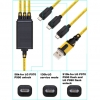 Cable USB 3 en 1 para LG Optimus P970 / P990 / P920 / P925 / SU660 / SU760 (BX Series)
