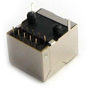 rj48 10 pin female socket for soldering into pcb unlock. Black Bedroom Furniture Sets. Home Design Ideas