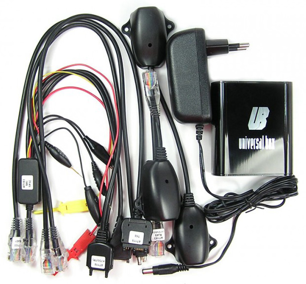 Universal Box Activada Full Alimentador Kit Cables