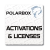 Polar Box Activations and Licenses