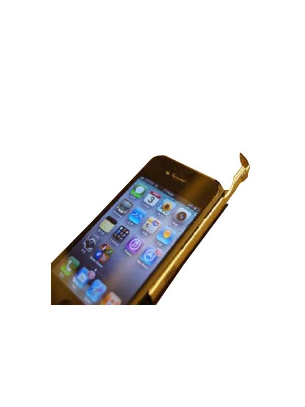 DAGi Stylus P401 Exclusive for iPhone 4 [Black & Aluminum]