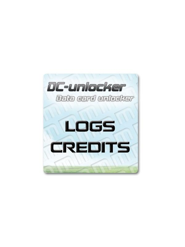 DC Unlocker Credits - Choose the quantity of logs that you need for refill your DC-Unlocker USB Dongle. Also valid for top up your Vygis Box or Rocker Box with an activated DC-Unlocker License. With these credits you will be able to unlock the latest cell pones, USB modems, MiFis, 3G & 4G routers from brands such as Huawei, ZTE, vodafone, Orange, T-Mobile, Novatel, Option, Amoi, Ovation, etc...