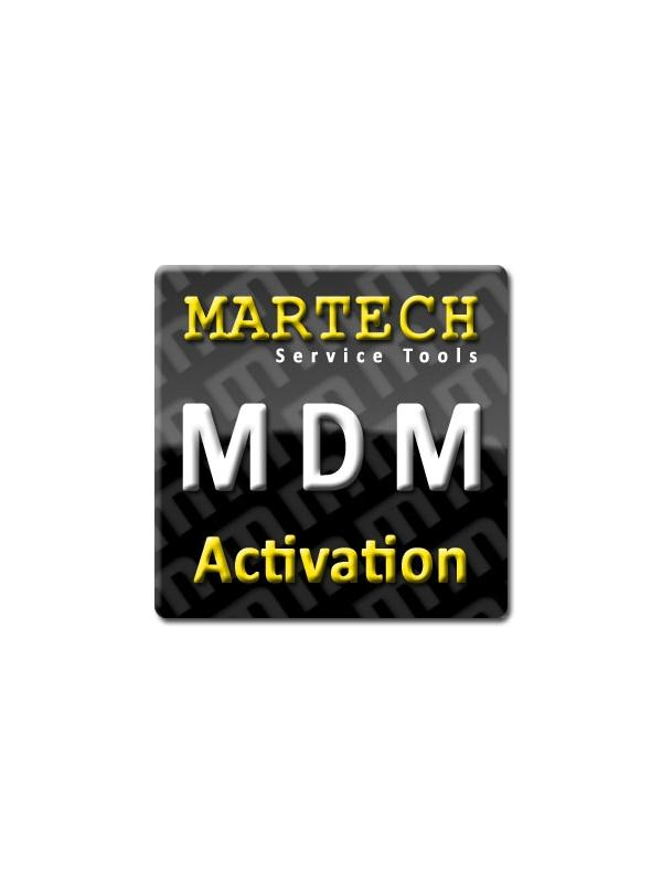 MDM Service Tools Activation for Martech