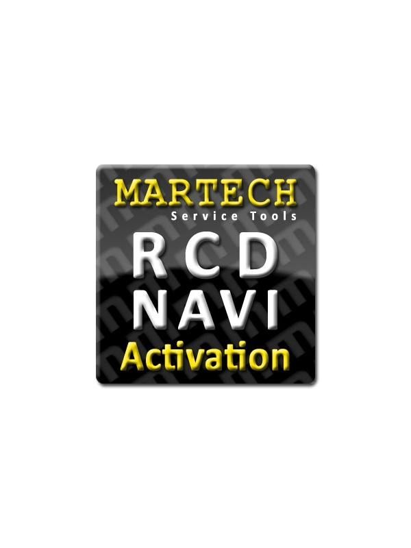 RCD Service Tools Activation for Martech