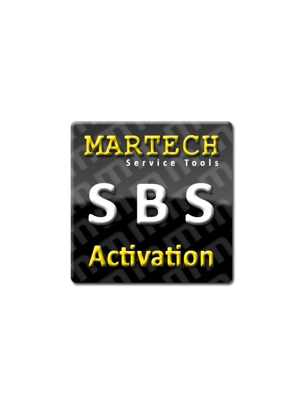 SBS Tools Activation for Martech - Smart Battery Service Tools it is an easy in use tool for repair faulty batteries. SBS supports laptops, cameras, video cameras, digital cameras and other types of batteries. You can reset charging cycles and date of manufacturing from battery EEPROM and you will have again fully working battery.