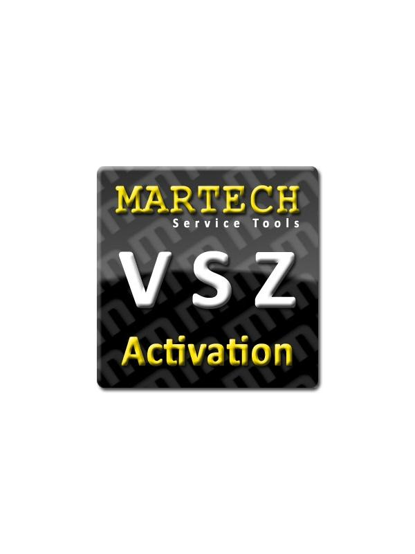 VSZ Service Tools Activation for Martech