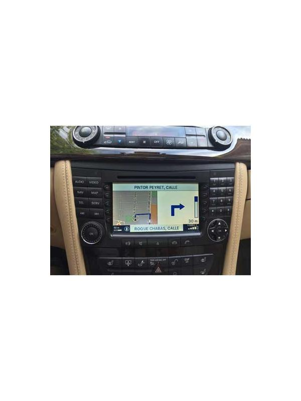 Comand APS NTG1 v19 2018-2019 [1 x Europe DVD] - Latest version of the map DVD update for the Mercedes Benz Comand APS NTG1 navigation systems with maps DVD drive unit located in the boot / trunk compatible with E W211 / S211, S W220 / V220, CLS C219, SLK R171, SL R230, CL C215, Maybach V240 and W240 models.