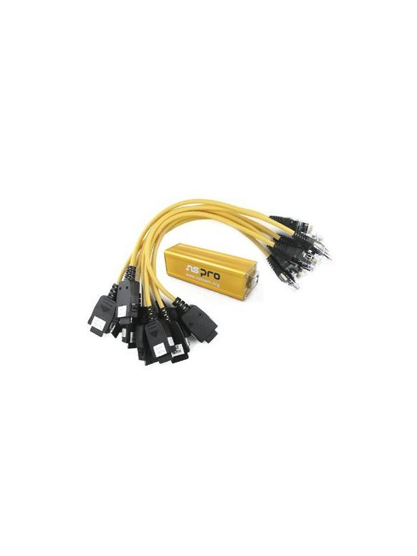 NS Pro Box + Licencia Update v5.5.0 + Kit 14 Cables -