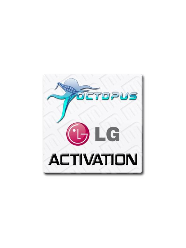 Activación LG para Octopus Box - Módulo para liberar, reparar IMEI / NVM, flashear, cambiar de idioma, etc... en los últimos teléfonos móviles y tabletas de LG de las plataformas Analog Devices, Infineon, Texas Instruments, Qualcomm, MTK y SEMC. Esta licencia es compatible con Octopus Box, Medusa Box y Medusa PRO.