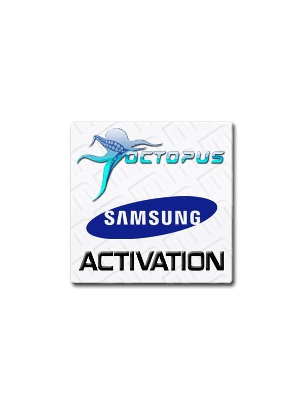 Samsung Activation for Octopus Box - Module for unlocking, IMEI / EFS / NVM repairing features, flashing, language changing, etc... for the latest Samsung phones and tablets from the Qualcomm, Infineon, Swift, Agere, Broadcom and Spreadtrum platforms. This license is compatible with Octopus Box, Medusa Box and Medusa PRO.