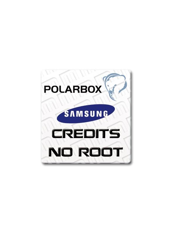 Samsungr Credits refilling for Polar Box | Samsung | Unlock Software