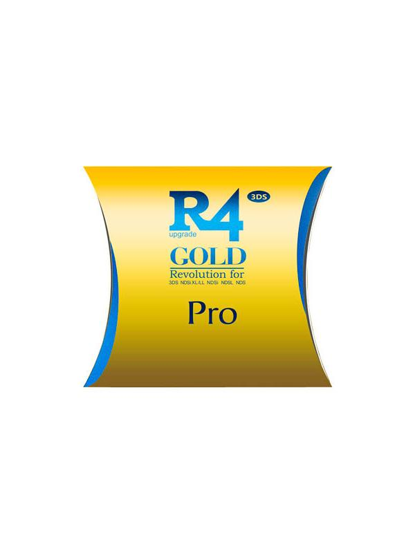 R4 SDHC Gold Pro for 2DS, New 3DS / XL & DSi   Unlock Software