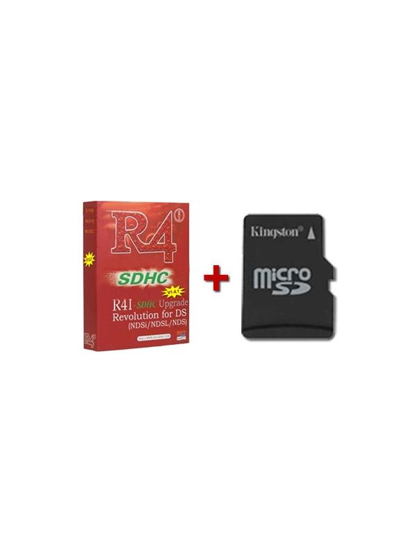R4i SDHC Flash Cart *GENUINE* + microSD Card + Boot and Games
