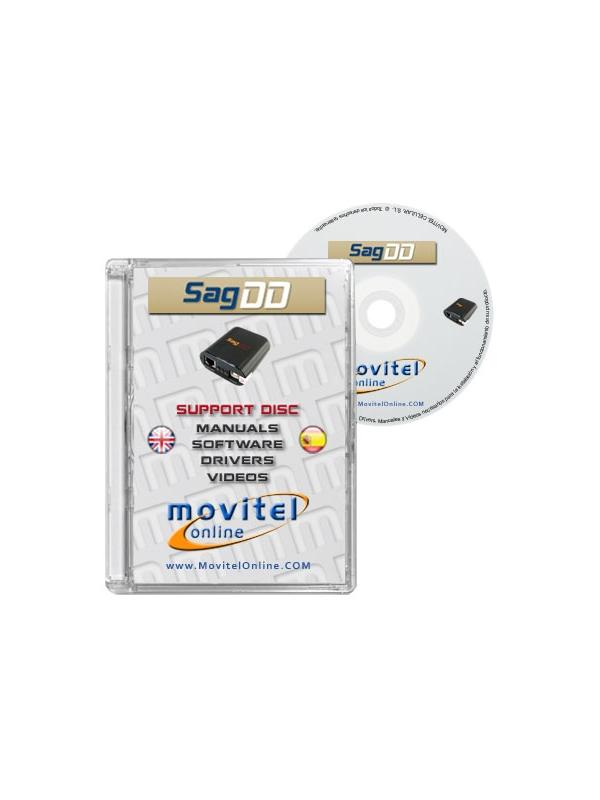 SagemDD Box Support Disc with Manuals, Software and Videos
