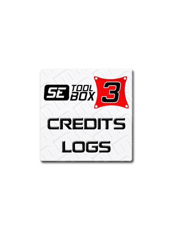 New Account or Refilling of 30 logs for SETool Box 3