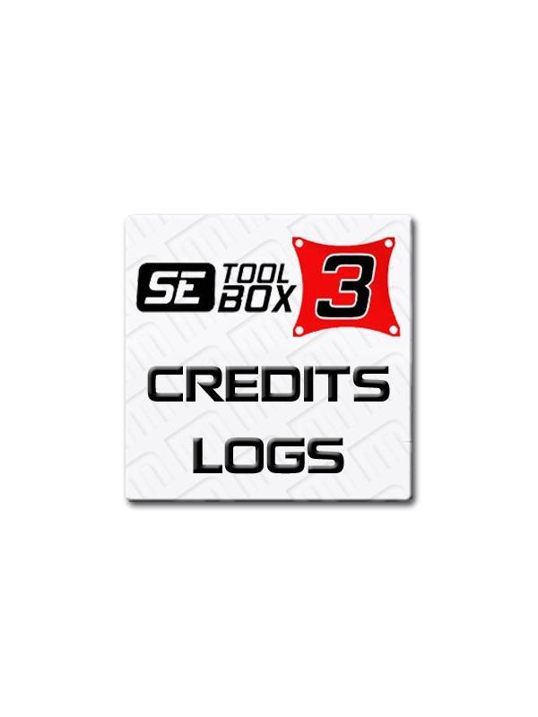 Cuenta nueva o Recarga de 30 logs para SETool Box 3