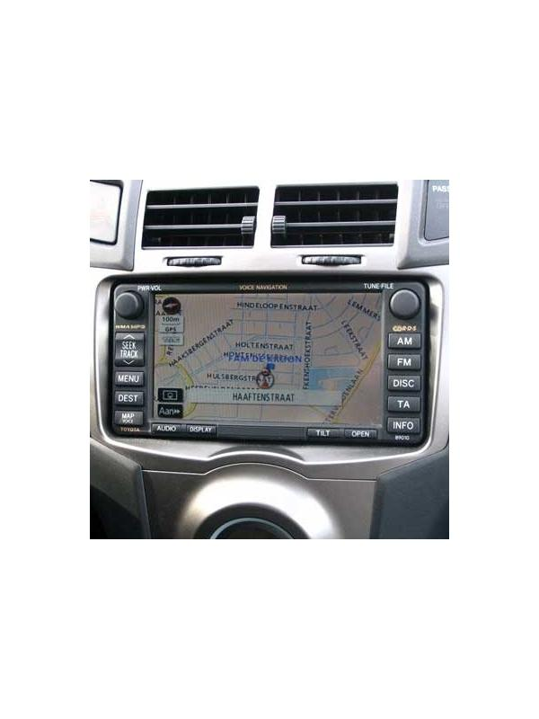 TNS 600 / 700 2017-2018 v2 E1G [1 x DVD to choose] - Latest version of the map DVD update for the Toyota and Lexus TNS 600 / 700 navigation systems manufacturated from 2003 onwards with maps in DVD media, with touchscreen and dual disc drive with one slot for audio CD and one for DVD map.