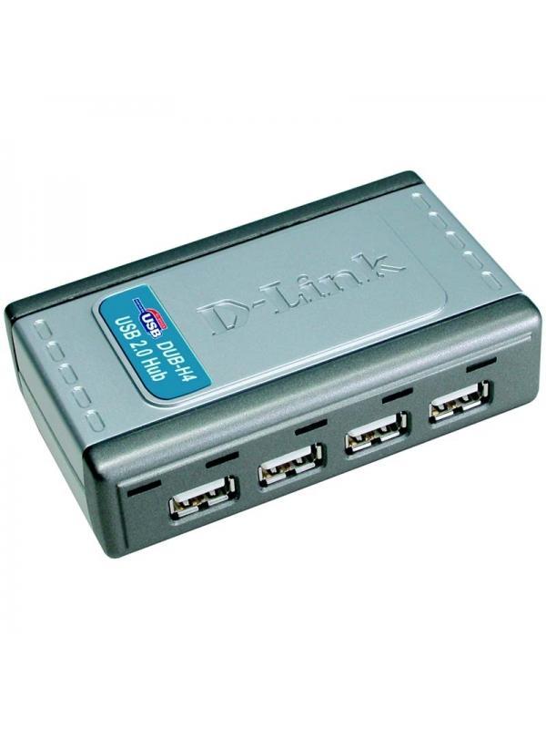 Hub USB 2.0 D-Link DUB-H4 (4 puertos)