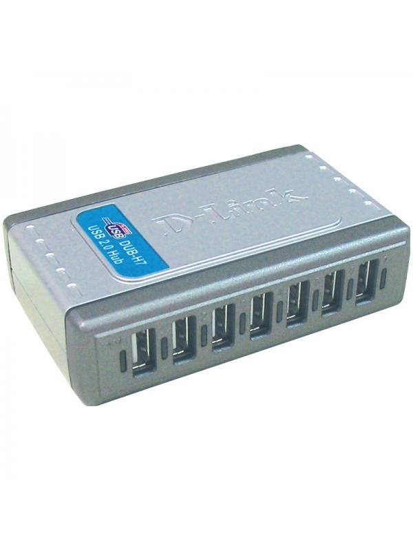 Hub USB 2.0 D-Link DUB-H7 (7 puertos)