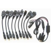 Kit Cables Alcatel All in One Serie/COM (13 unidades) -