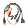 Cable BB5 BOX 2 in 1 Nokia DKU-2 + miniUSB Agujas Finas