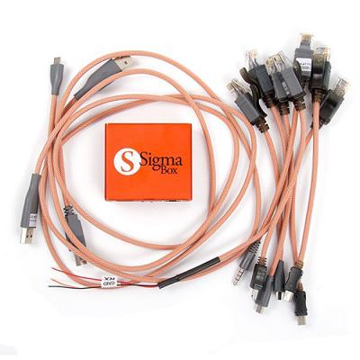 Sigma Box + 9 pcs Cable Set   MULTIBRAND   Liberar, Cables Unlock