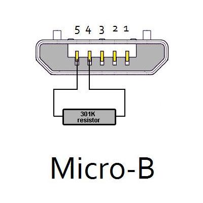 samsung download mode jig clip  300k resistor