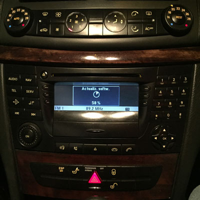 Cd Gps audio 50 aps mercedes navigation Dvd