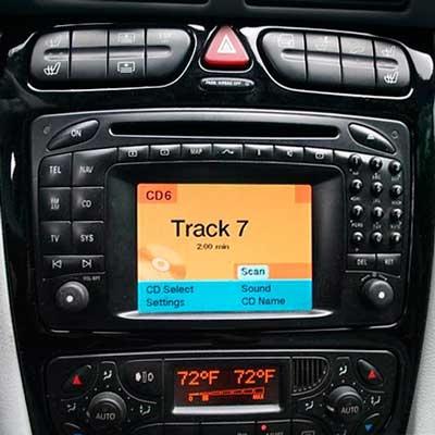 mercedes benz comand  dx    cd  choose blaupunkt liberar cables unlock box