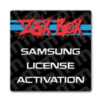 Samsung PRO v24 1 Activation/License for Z3X Box | Samsung
